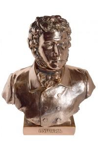 Бюст под бронзу Пушкин