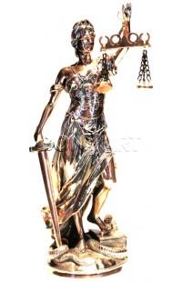 Статуэтка декоративная ФЕМИДА высота 41 см