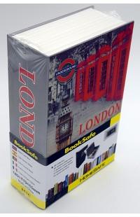 Книжка сейф металлическая с цифровым замком Лондон 17см