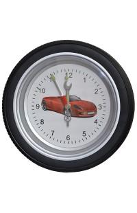 Часы колесо на стену Колесо 35см.