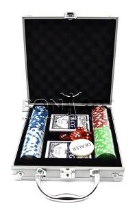 Набор для игры в покер с номинальными фишками Профессионал 100.