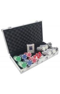 Набор для игры в покер с профессиональными фишками Профессионал 300