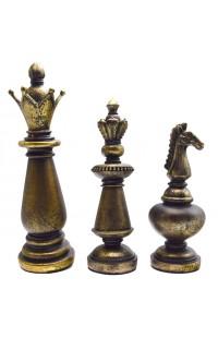 Декоративные шахматные фигуры 3шт