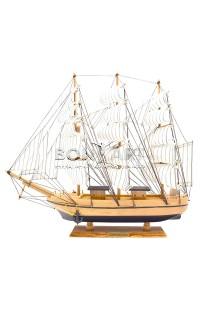 Декоративная модель парусника CONFECTION высота 42см