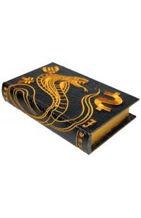 Шкатулка в виде книги для денежных знаков Змея.