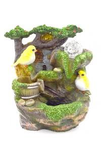 Декоративный фонтан ПТИЧКИ, 24 см