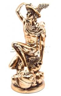 Фигурка декоративная Гермес (покровитель торговли) высота 25 см, HERMES25