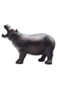 Декоративная фигурка БЕГЕМОТ высота 23 см, HIPPO23
