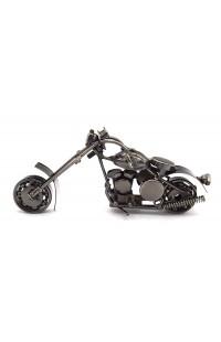 Композиция из металла Мотоцикл 15см, IC0012