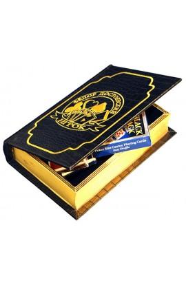 Шкатулка в виде книги Достоевский Игрок с 2 колодами карт, IGROK_2