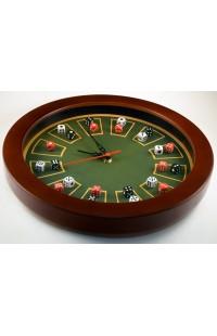 Часы настенные в деревянном корпусе Крэпс 30см оригинальный контент, JM3003