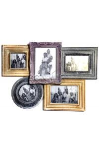 Фоторамка настенная со стеклом ретро стиль Прованс, JP1576