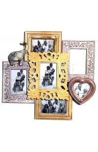орамка настенная со стеклом ретро стиль Семья, JP1578