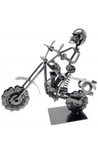 Композиция декоративная из металла немецкий дизайн Байкер