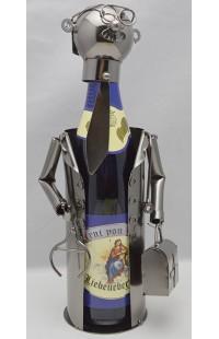 Держатель для винной бутылки из металла немецкий дизайн Добрый доктор.