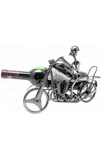 Держатель для винной бутылки из металла немецкий дизайн Байкер