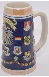 Пивная кружка керамическая коллекционная Дойчланд.