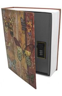 Книжка-сейф KS_BATERFLY, высота 18см