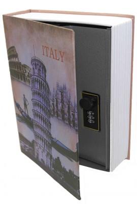 Книжка-сейф ИТАЛИЯ высота 27 см, KS_ITALY27