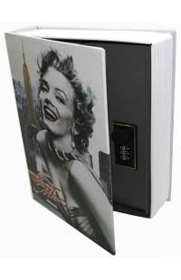 Книжка-сейф Marilyn Monroe / Мэрилин Монро, высота 18см