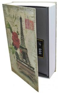 Книжка-сейф KS_PARIS1, высота 18см