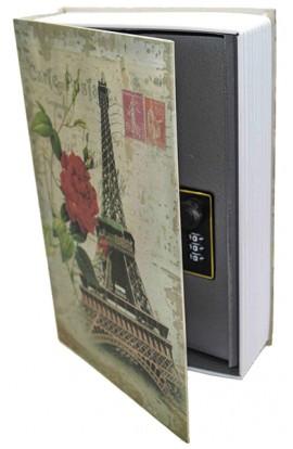 Книжка-сейф ПАРИЖ высота 24 см, KS_PARIS124