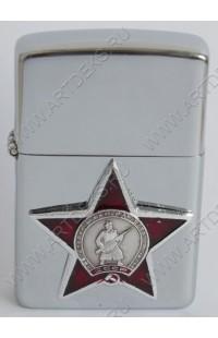 Зажигалка бензиновая Орден Красной звезды, LP07P