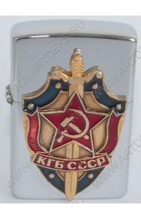 Зажигалка бензиновая КГБ СР.