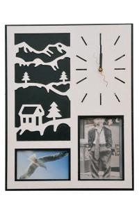 Часы на стену Зимний вечер 45см, M1396B