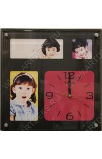 Часы на стену Квадраты, M8004