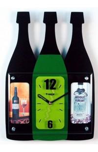 Часы на стену Бутылочки, M8103