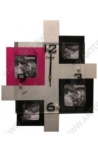 Часы на стену Квадраты, M8105