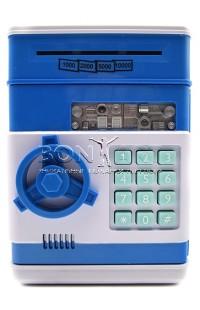 Декоративный сейф (синий)