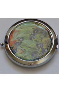Декоративное зеркальце с эмалью Донна Диа Цветы.