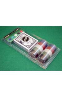 Набор для игры в покер с обычными фишками Покер Базовый 60.