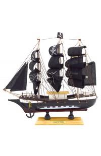 Декоративная модель ПИРАТСКИЙ ПАРУСНИК, 23 см, PIRATE22
