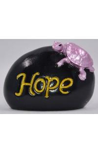 Фигурка Черепаха на камне Надежда.