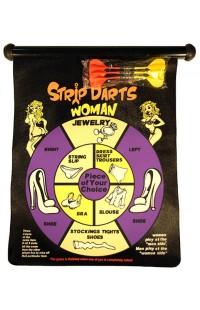 Магнитный дартс для веселой компании Стриптиз, SDARTS