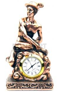 Часы декоративные ГЕРМЕС (Бог торговли) высота 13 см