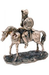Статуэтка под бронзу Богатырь, T1726