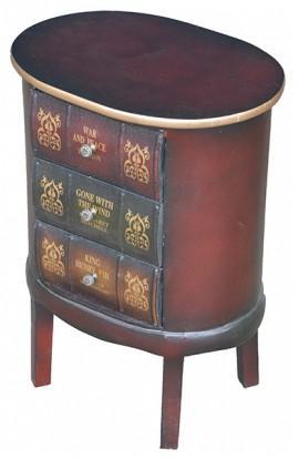 Тумбочка кабинетная Стопка книг, VR3792