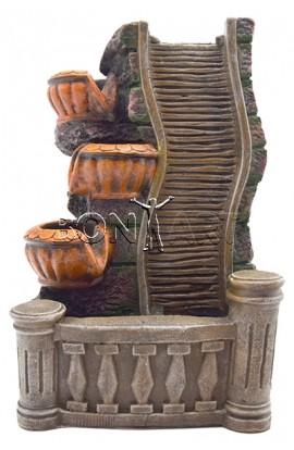 Декоративный фонтан ДОРОГА В ОБЛАКА, высота 33 см, W750047