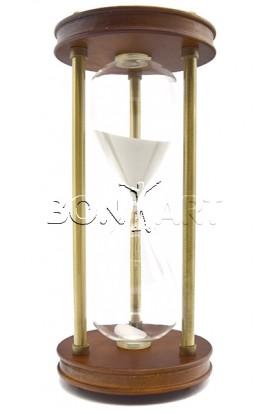 Часы песочные 60 мин, высота 33 см, W800567