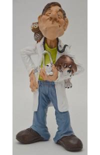 Фигурка декоративная из серии Мир профессий Ветеринар 17см, WD81685