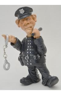 Фигурка декоративная из серии Мир профессий Полицейский 17см, WD81689