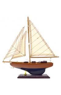 Декоративная яхта высота 34 см, YACHT34