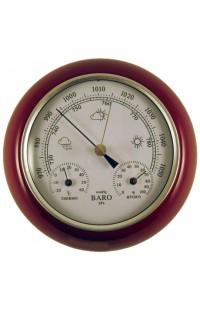 Метеостанция деревянная диаметр 15 см, YG350