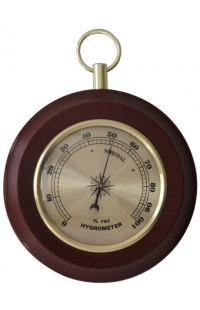 Деревянный круглый барометр 13см, YG3869