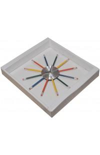 Часы на стену офиса Карандаши 28см, YGZ1056