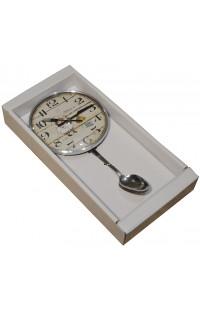 Часы на стену кухни Ложка 33см, YGZ1314